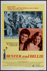 "Buster and Billie (Columbia, 1974). One Sheet (27"" X 41"") Style B. Drama"