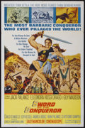 "Movie Posters:Adventure, Sword of the Conqueror (United Artists, 1962). One Sheet (27"" X41""). Adventure...."