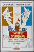 "Movie Posters:Comedy, The Best of Enemies (Columbia, 1962). One Sheet (27"" X 41"").Comedy...."