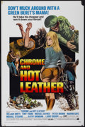 "Movie Posters:Action, Chrome and Hot Leather (American International, 1971). One Sheet(27"" X 41""). Action...."