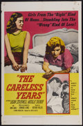 "Movie Posters:Bad Girl, The Careless Years (United Artists, 1957). One Sheet (27"" X 41"").Bad Girl...."