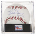 "Autographs:Baseballs, Bobby Doerr ""HOF 86"" Single Signed Baseball PSA Mint + 9.5...."