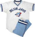 Baseball Collectibles:Uniforms, 1977 Toronto Blue Jays Game Worn Jerseys and Pants. From the inaugural season that Major League baseball was played in Toro...