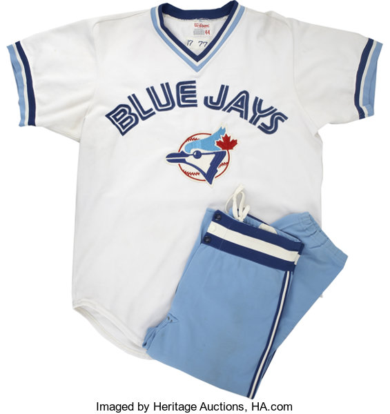 best service aac3b 937fc 1977 Toronto Blue Jays Game Worn Jerseys and Pants. From the ...