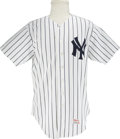 Baseball Collectibles:Uniforms, 1985 Gene Michael Game Worn Uniform. Perhaps the most desirableuniform design in all of baseball is the iconic pinstripe j...