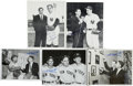 Autographs:Photos, Phil Rizzuto Signed Photographs Lot of 5 and Single SignedBaseballs Lot of 2. Fans of Scooter will surely clamor at the op...