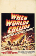 "Movie Posters:Science Fiction, When Worlds Collide (Paramount, 1951). Window Card (14"" X 22"")...."