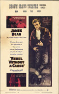 """Movie Posters:Drama, Rebel Without a Cause (Warner Brothers, 1955). Window Card (14"""" X 22"""")...."""