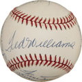Autographs:Baseballs, 500 Home Run Club Multi-Signed Baseball. Excellent example ofperhaps the most-desirable theme collectible in the hobby -- t...