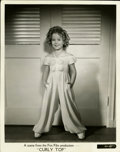 """Movie Posters:Musical, Shirley Temple in Curly Top Publicity Still (Fox, 1935). Still (8"""" X 10"""")...."""