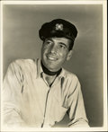 """Movie Posters:Romance, Humphrey Bogart in """"To Have and Have Not"""" Publicity Still by Longworth (Warner Brothers, 1944). Still (8"""" X 10"""")...."""