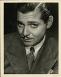 """Movie Posters:Miscellaneous, Clark Gable Portrait Still by Clarence Sinclair Bull (MGM, 1930s). Still (8"""" X 10"""")...."""