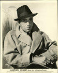 "Movie Posters:Miscellaneous, Humphrey Bogart Portrait Still (Warner Brothers, 1930s). Still (8""X 10"")...."