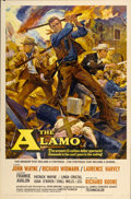 "Movie Posters:Western, The Alamo (United Artists, 1960). One Sheet (27"" X 41"")...."