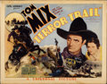 """Movie Posters:Western, Terror Trail (Universal, 1933). Title Lobby Card (11"""" X 14"""")...."""