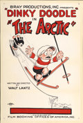 "Movie Posters:Animated, The Arctic (Bray Studios, 1926). One Sheet (27"" X 41"")...."