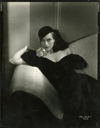 "Joan Crawford Publicity Still by George Hurrell (MGM, 1930s). Still (8"" X 10"")"