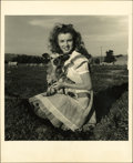 """Movie Posters:Miscellaneous, Marilyn Monroe Portrait Still by Andre Dienes (1945). Still (8"""" X 10"""").... (Total: 3 Items)"""