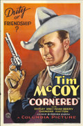 "Movie Posters:Western, Cornered (Columbia, 1932). One Sheet (27"" X 41"")...."