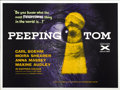 "Movie Posters:Horror, Peeping Tom (Anglo Amalgamated, 1960). British Quad (30"" X 40"")...."