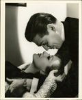 "Movie Posters:Musical, Clark Gable and Joan Crawford in 'Dancing Lady' by George Hurrell(MGM, 1933). Still (8"" X 10"")...."