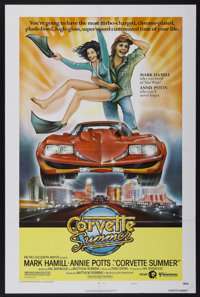 """Corvette Summer (United Artists, 1978). One Sheet (27"""" X 41"""") Style A. Action"""