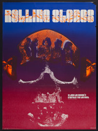 "Sympathy for the Devil (New Line, 1970). Poster (34.5"" X 46.5""). Rock and Roll"