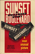 "Movie Posters:Film Noir, Sunset Boulevard (Paramount, 1950). One Sheet (27"" X 41"") StyleB...."