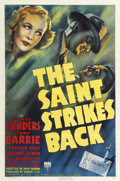 "Movie Posters:Mystery, The Saint Strikes Back (RKO, 1939). One Sheet (27"" X 41"")...."