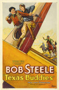 "Movie Posters:Western, Texas Buddies (WorldWide Pictures, 1932). One Sheet (27"" X 41"")...."