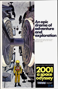 """2001: A Space Odyssey (MGM, 1968). One Sheet (27"""" X 41"""") Style C"""