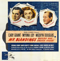 """Movie Posters:Comedy, Mr. Blandings Builds His Dream House (RKO, 1948). Six Sheet (81"""" X81"""")...."""