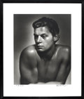 "Movie Posters:Adventure, Johnny Weissmuller Studio Portrait by George Hurrell (MGM, 1932).Still (16"" X 20"")...."