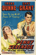 "Movie Posters:Drama, Penny Serenade (Columbia, 1941). One Sheet (27"" X 41"")...."
