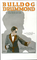 "Movie Posters:Crime, Bulldog Drummond (Hodkinson Pictures,1922). Window Card (13"" X21"")...."