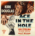 "Movie Posters:Film Noir, Ace In The Hole (Paramount, 1951). Six Sheet (81"" X 81"")...."