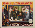 "Movie Posters:Drama, The Last Command (Paramount, 1928). Lobby Cards (2) (11"" X 14"").... (Total: 2 Items)"