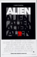 "Movie Posters:Science Fiction, Alien (20th Century Fox, 1979). One Sheet (27"" X 41"") Advance...."