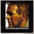 "Movie Posters:Drama, Cool Hand Luke (Warner Brothers, 1967). Six Sheet (81"" X 81"")...."