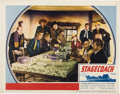 "Movie Posters:Western, Stagecoach (United Artists, 1939). Lobby Card (11"" X 14"")...."