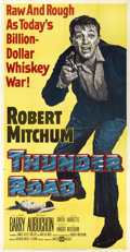 "Movie Posters:Crime, Thunder Road (United Artists, 1958). Three Sheet (41"" X 81"")...."