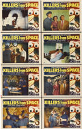 "Movie Posters:Science Fiction, Killers From Space (RKO, 1954). Lobby Card Set of 8 (11"" X 14"")....(Total: 8 Items)"