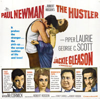 "The Hustler (20th Century Fox, 1961). Six Sheet (81"" X 81"")"