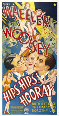 "Movie Posters:Comedy, Hips, Hips, Hooray (RKO, 1934). Three Sheet (41"" X 81"")...."