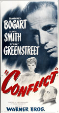"Movie Posters:Drama, Conflict (Warner Brothers, 1945). Three Sheet (41"" X 81"")...."