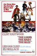 "Movie Posters:Western, The Good, the Bad and the Ugly (United Artists, 1968). Poster (40""X 60"")...."