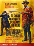 """Movie Posters:Western, For a Few Dollars More (United Artists, 1967). French Grande (47"""" X 63"""")...."""
