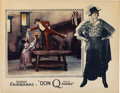 "Movie Posters:Swashbuckler, Don Q, Son of Zorro (United Artists, 1925). Lobby Card (11"" X 14"")...."