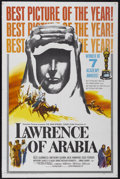 "Movie Posters:Academy Award Winner, Lawrence of Arabia (Columbia, 1962). One Sheet (27"" X 41"") AcademyAwards Style D. Biographical Adventure.. ..."