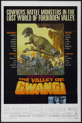 """Movie Posters:Science Fiction, The Valley of Gwangi (Warner Brothers, 1969). One Sheet (27"""" X 41""""). Science Fiction...."""